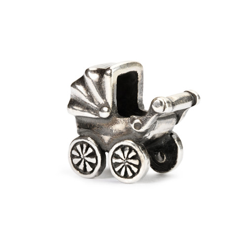 Trollbeads Silver Charms Baby Buggy