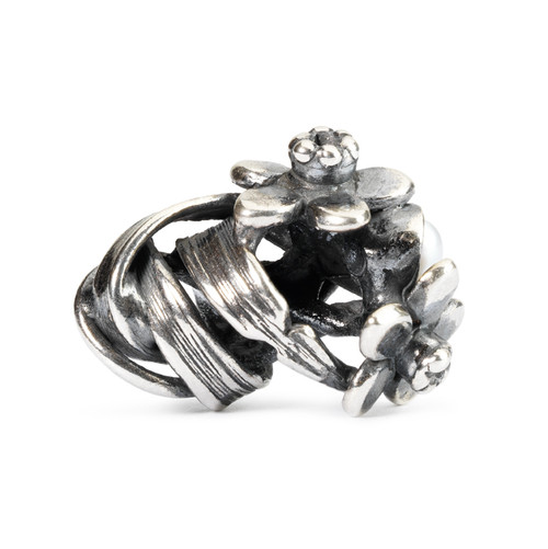 Trollbeads Silver Charms Daffodil of March