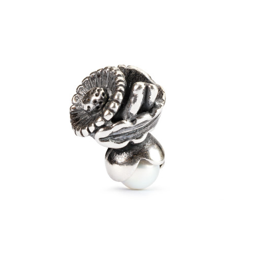 Trollbeads Silver Charms Daisy of April