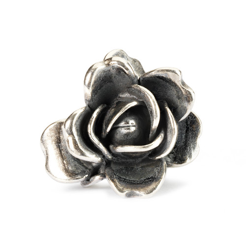Trollbeads Silver Charms Rose of June