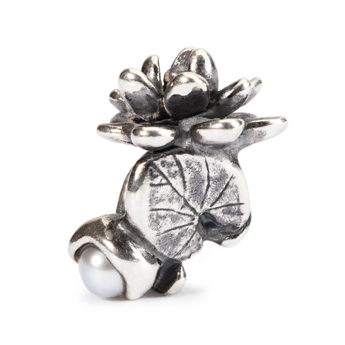 Trollbeads Silver Charms Water Lilies of July