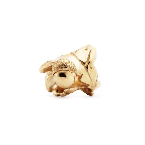 Trollbeads Little Acorn Gold