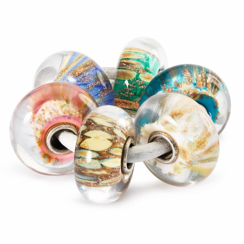 New Troll Beads Spring Collection, Sparkle Kit Glass Beads
