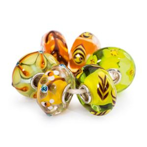 Trollbeads Summer Nature Kit, Bohemian Summer Collection
