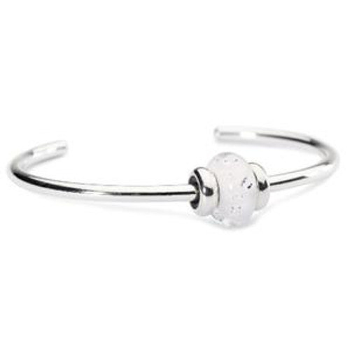 Trollbeads Sparkling Bangle White