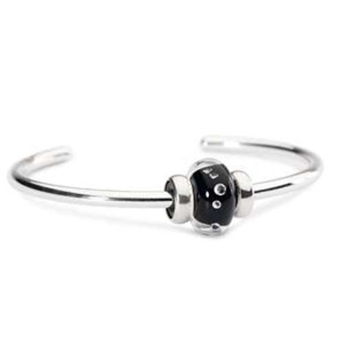 Trollbeads Sparkling Bangle Black
