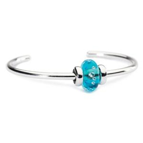 Trollbeads Sparkling Bangle Ice Blue