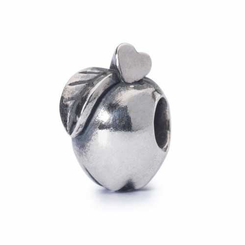 Trollbeads Apple of Wisdom, Sterling Silver Charm, Fall 2014 Collection, TrollbeadsAkron.com