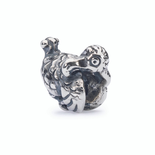 Trollbeads Dodo Bead, Spring 2015 Collection, Silver Charm