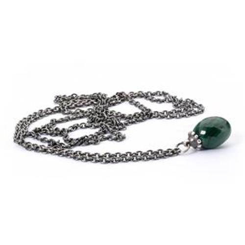 Trollbeads Fantasy Necklace with Malachite