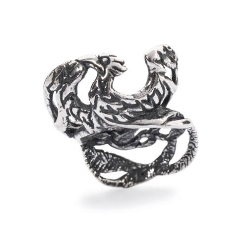 Trollbeads Phoenix Bead, Silver