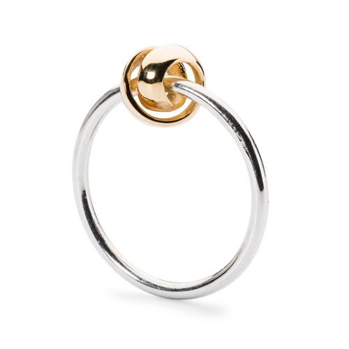 Trollbeads Neverending Gold Ring