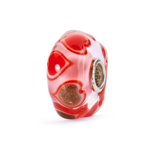 Trollbeads Valentines Day Heart Bloom Bead