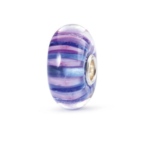 Trollbeads Violet Stripe Bead