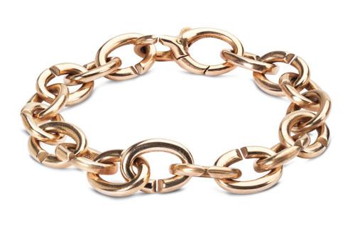 X Jewelry Classic Single Bronze Bracelet