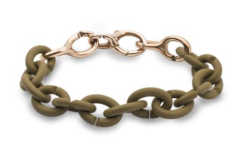 X Jewelry Khaki Luxe Bracelet