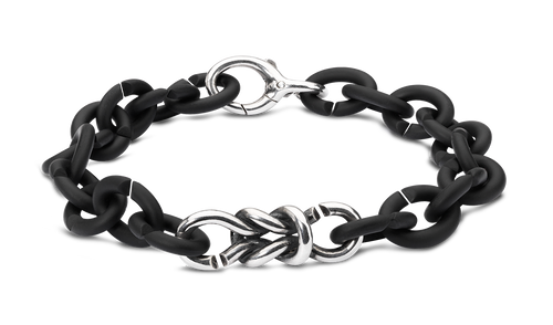 X Jewelry Lover's Bond Silver Bracelet