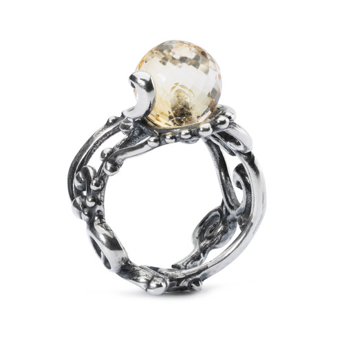 Trollbeads Citrine Facet Ring