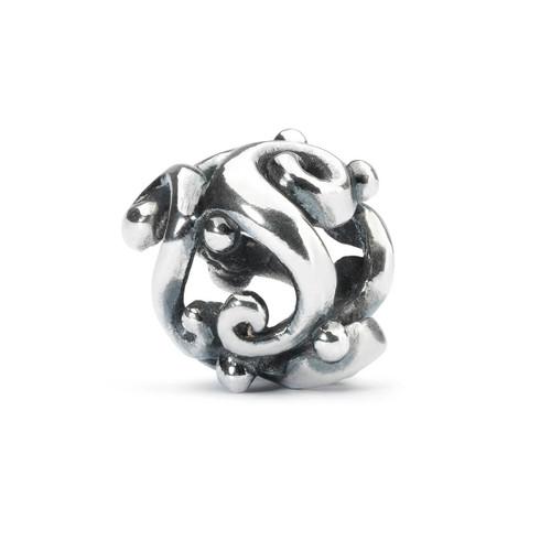 Trollbeads Silver Charm Moonlight Dancing