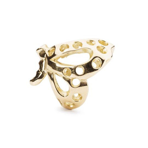 Trollbeads Dancing Butterfly, Gold