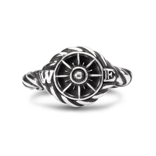 X Jewelry by Trollbeads Compass, top view