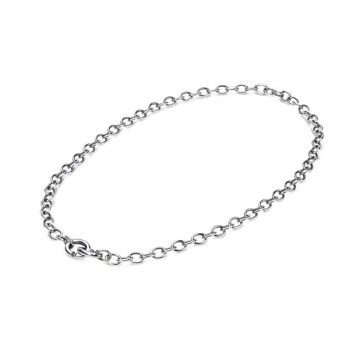 X Jewellery Link Chain 40cm, closed