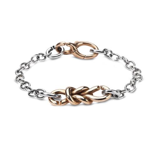 X Jewellery Lovers Bond Chain Bracelet