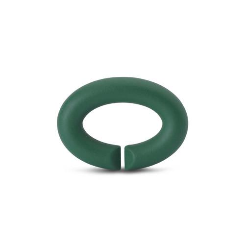 X Jewellery Keen Green Rubber X