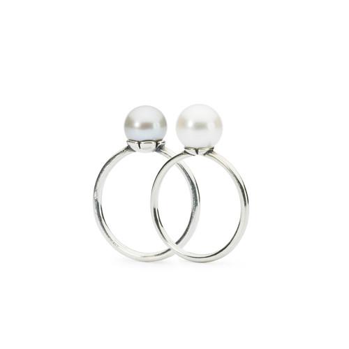 Trollbeads Pearl Ring Set