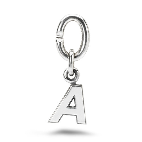 X Jewellery Letter A Charm