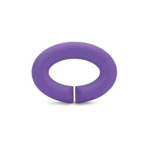 Trollbeads X Jewellery Velvet Lilac Rubber Link
