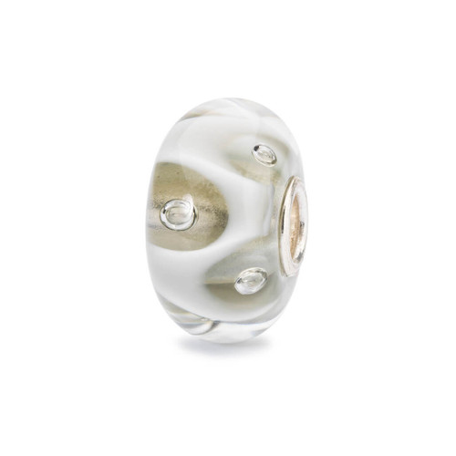 Trollbeads Drops Of White