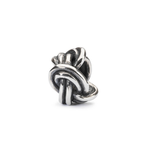 Trollbeads Savoy Knot, Silver Charm