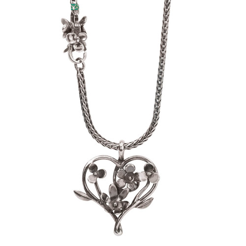 Trollbeads Lush Meadow Necklace with Decorative Lock