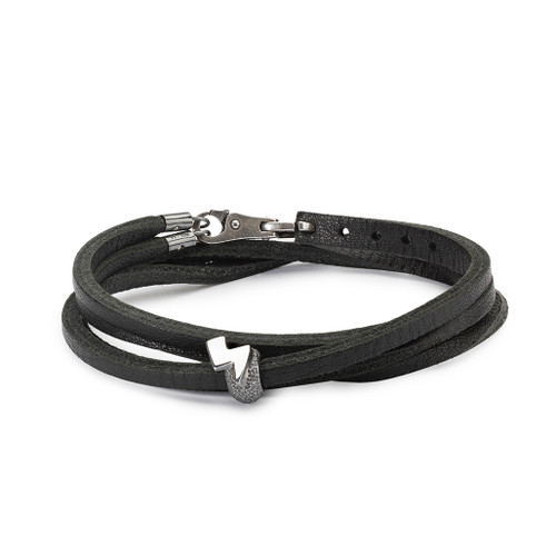 Trollbeads Superhero Bracelet, Black