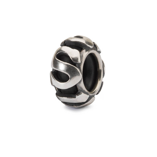 Trollbeads Spacer Letter S