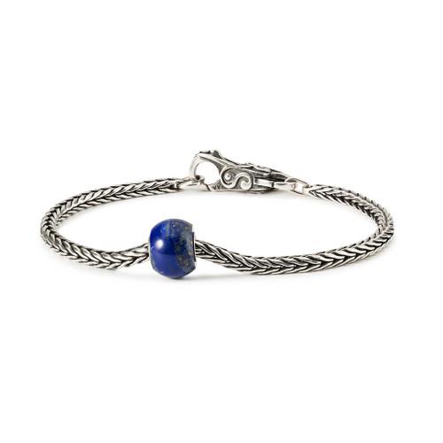 Trollbeads Round Lapis Lazuli Bracelet