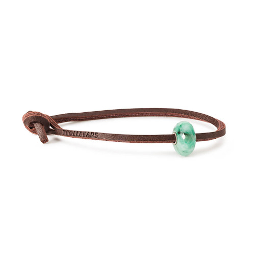 Trollbeads Amazonite Leather Bracelet