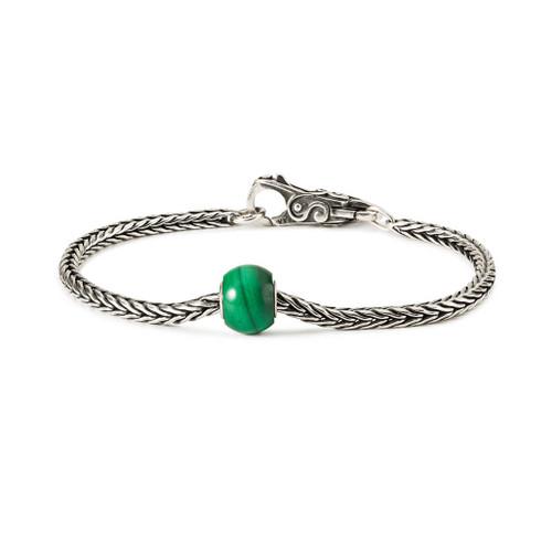Trollbeads Round Malachite Bracelet