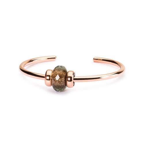 Trollbeads Sense of Shimmer Copper Bangle