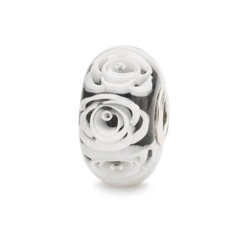 Trollbeads White Roses