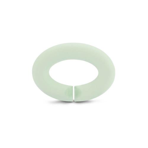 X Jewellery Mint Green Rubber X