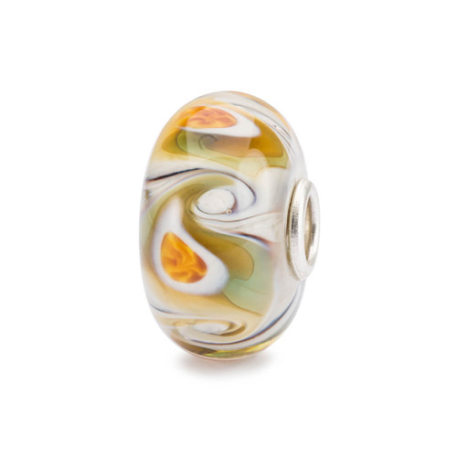 Trollbeads Desert Mist Glass Bead