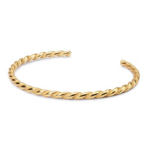 Twisted Gold Bangle