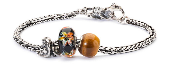 Trollbeads Silver Bracelet and Clasp