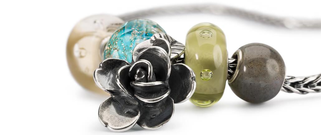 Trollbeads Bracelet with Round Stone