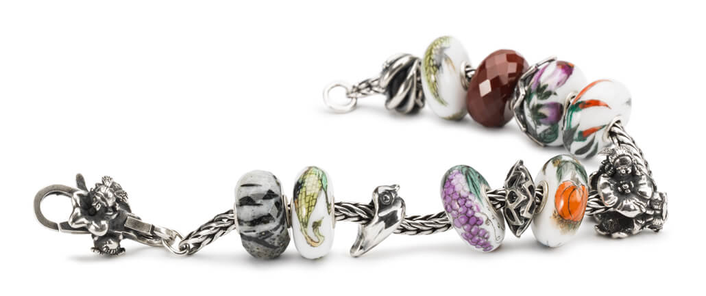 Trollbeads Charms On Bracelet