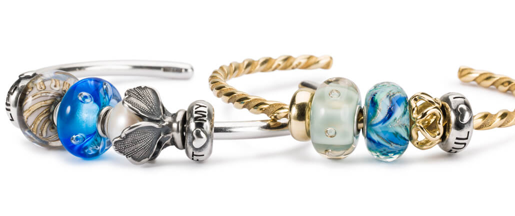 Trollbeads Gold and Silver Bangles