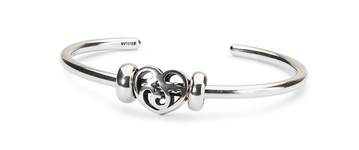 Trollbeads Sun, Moon and Stars Bangle