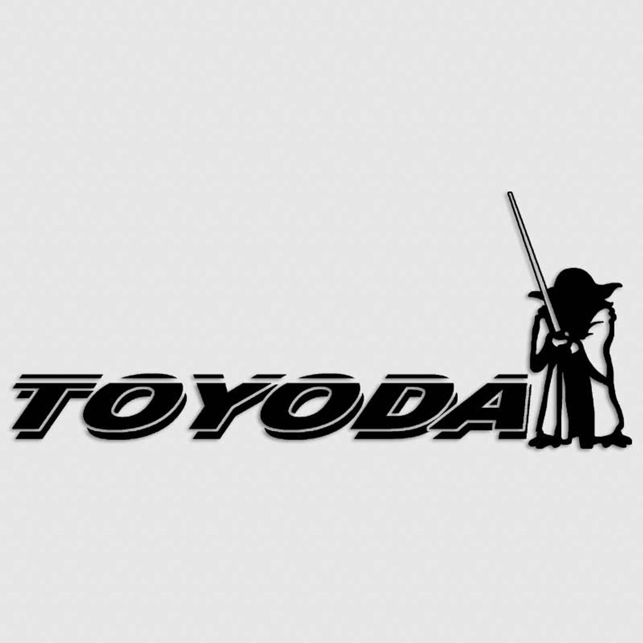 StarWars Yoda vinyl Decal Sticker